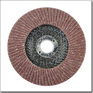 Professional Aluminum Oxide Metal Polishing 4.5 Inch Flap Disc Manufacturers pictures & photos
