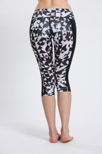Gym Running Capris Printed Sports Wear, Private Label Leggings pictures & photos