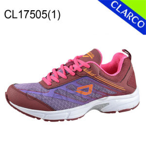 Good Quality Women and Men Sports Running Athletic Shoes pictures & photos