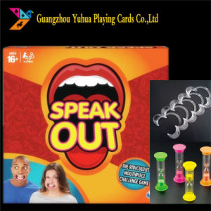 Custom Speak out Game Manufacturer Yh105 pictures & photos