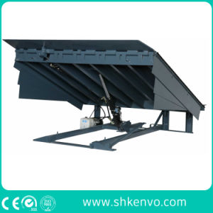 Stationary Fixed Warehouse Hydraulic Truck Container Adjustable Loading and Unloading Dock Ramp pictures & photos