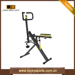 2 in 1 Function Total Crunch with 12 Level Adjustable Cylinder Body Crunch + X Bike pictures & photos
