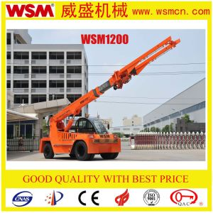 12 Tons Telescopic Boom Forlift Truck for Cargo Handling pictures & photos