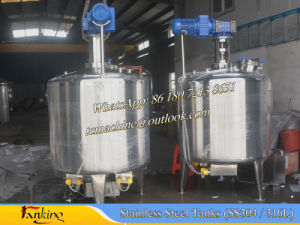1500L Hot Water Heating Mixing Tank with Anchor Mixer pictures & photos