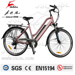 250W 36V Lithium Battery Lady City Electric Bike (JSL038G) pictures & photos