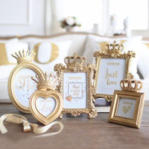 White Ceramic Shabby Chic Heart Photo Picture Frame pictures & photos