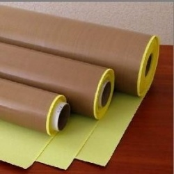 PTFE Coated Fiberglass Insulation Adhesive Tape pictures & photos