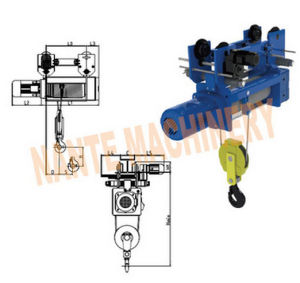 Sh Series Electric Wire Rope Hoist pictures & photos