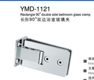 Stainless Steel Frameless Shower Accessories Glass Door Rectangle Glass Clamp pictures & photos