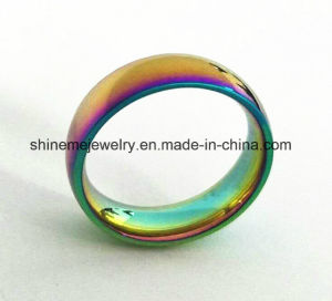 Shineme Jewelry Dazzle Colour Stainless Steel Ring (SSR2780) pictures & photos