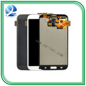 Touch LCD Screen for Samsung Note2 LCD Display White pictures & photos