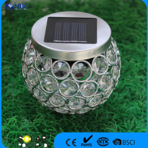Nbc-9217 IP65 with 1 PC Changing Color LED Solar Glass Moscic Jar pictures & photos