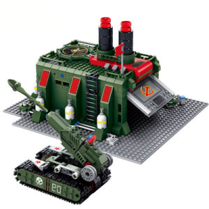 14881008-794PCS Red Alert 3 War Factory Building Blocks DIY Action Figure Bricks Assembled Educational Toys pictures & photos