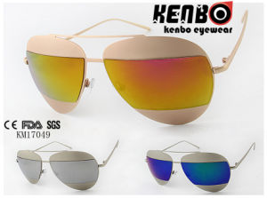 Half Lens on The Metal Frame by Latest Design Fashion Sunglasses Km17049 pictures & photos