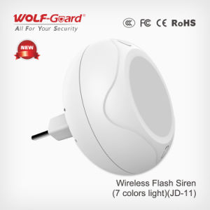 Hot Selling 433MHz Wireless Indoor Strobe Siren and Alarm External Sounder pictures & photos