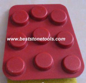 Horseshoe Diamond Polishing Pad