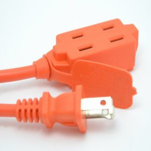 Two Pins Indoor American Type Extension Cord pictures & photos