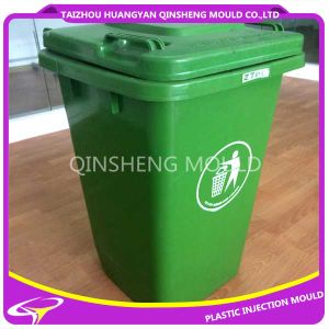 Plastic Injection Environmental Protection Garbage Bin Mould pictures & photos