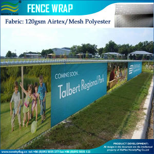 Outdoor Custom Printed Air Mesh Fence Banner (B-NF36F07002) pictures & photos