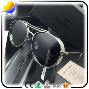 Fashion Star Men and Women Face Color Film Reflective Lens Sunglasses Men′s Sunglasses pictures & photos