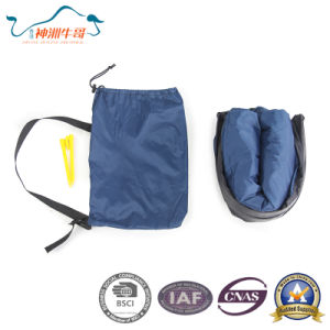 Multifunctional Nylon Lazy Air Sleeping Bag for Outdoor pictures & photos