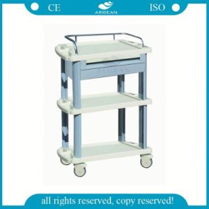 AG-Lpt008A Ce ISO Approved Hospital Trolley pictures & photos