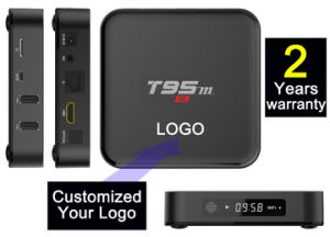 Custom Made Android5.1/6.0 Marshmallow Smart Stream IPTV TV Boxes S905/S905X Quad Core T95m-1GB/8GB pictures & photos