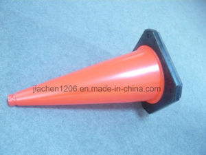 Blow-Molded 750mm PE Traffic Cone with Two Size pictures & photos