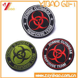 Customed Logo Arm Embroidery Patches for Uniform pictures & photos