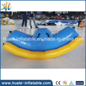 Hot Water Toy Inflatable Water Totter, Inflatable Seesaw for Kids and Adults