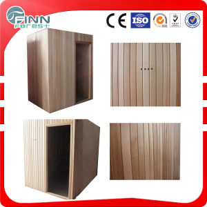 Tradictional Solid Wooden Dry Sauna Room pictures & photos