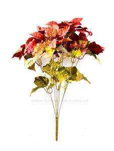 Artificial Hydrangea Christmas Floral Arrangement Withx8 for Decoration pictures & photos