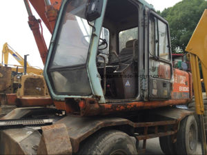 Used Wheel Excavator Hitachi Ex160wd, Japan Used Wheel Excavator pictures & photos