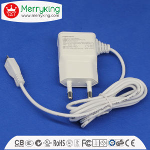 Export to Korea Kc 5V 2A with Micro 5 Pin USB DC Output AC/DC Adapter pictures & photos