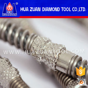 Professional Electroplated & Brazed Diamond Wire Saw pictures & photos