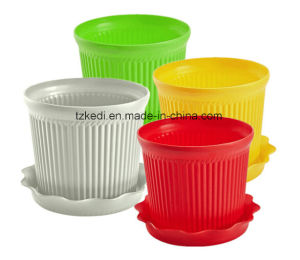 Color Plastic Flower Pot (KD9301N-KD9303N) pictures & photos