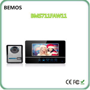 China Low Price Products LCD Screen Wireless Video Door Phone Doorbell pictures & photos