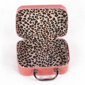 Customerized PU Leather Beauty Professional Empty Makeup Case pictures & photos