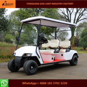 New Model 4 Seater Electric Golf Cart for Golf Course pictures & photos
