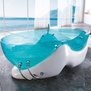 Freestanding Acrylic Bathtub with Cupc, Ce Certficate pictures & photos