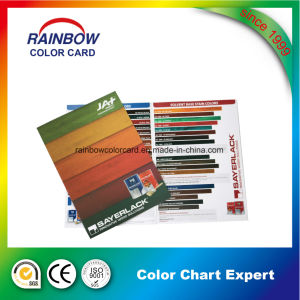 Wood Color Card by Full Color Offset Printing pictures & photos