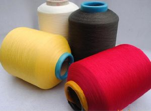 Polyester Air Covered Spandex Yarn pictures & photos