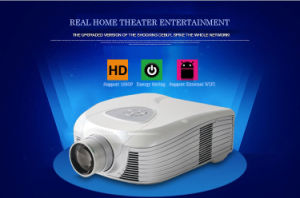 Yi-807 WVGA 720p Multifunction Projector with TV Support 3D USB HDMI pictures & photos