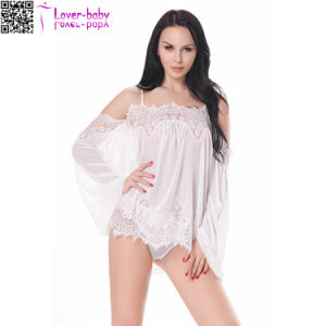White See-Through Babydoll Sexy Lingerie for Women L28220-2 pictures & photos