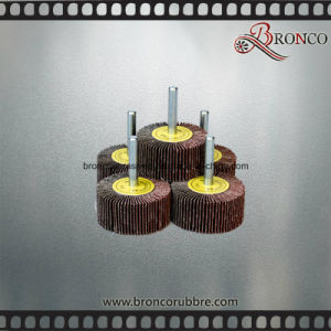 Abrasive Grinding Flap Wheel with Shaft pictures & photos