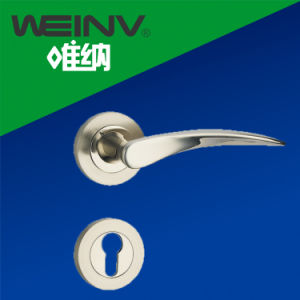 Security Mortise Door Lever Handle pictures & photos