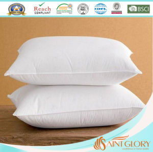 Factory Hotel Cheap Price Cushion Gel Hollow Fiber Polyester Pillow pictures & photos