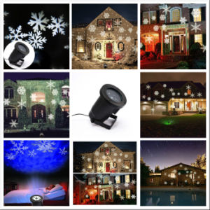 Hot Sale Snowflake Christmas Projector Light Laser Light pictures & photos