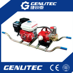 Trolley Type Gasoline Power Sprayer for Agricultural or Garden Use pictures & photos