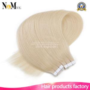Weaving Hair Brazilian Human Hair Extension Skin Weft Tape pictures & photos